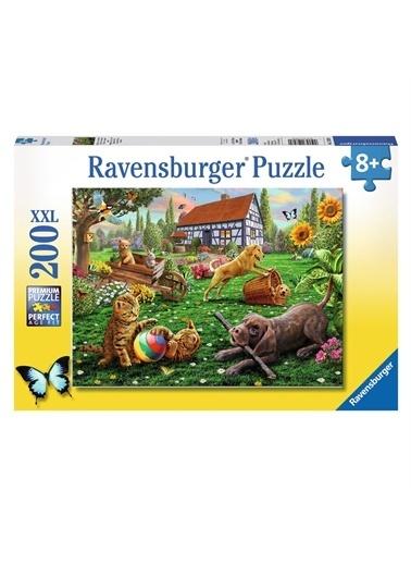 Ravensburger 200 Puzzle Bahçede 128280 Renkli
